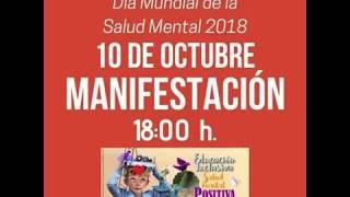 Invitación a la MANIFESTACIÓN del Día Mundial de la Salud Mental 2018