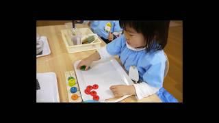 2歳のお子さんが行った数を体感する遊び ぐちゃラボ モンテッソーリ教育...