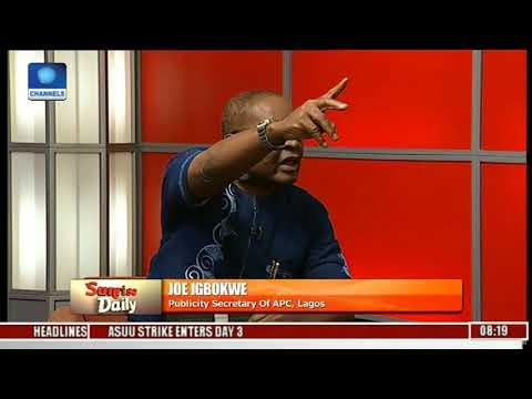 The #ResumeOrResign Protest Is Against The Law - Joe Igbokwe | Sunrise Daily |