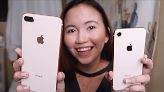 IPHONE 8 PLUS GOLD UNBOXING & QUICK REVIEW