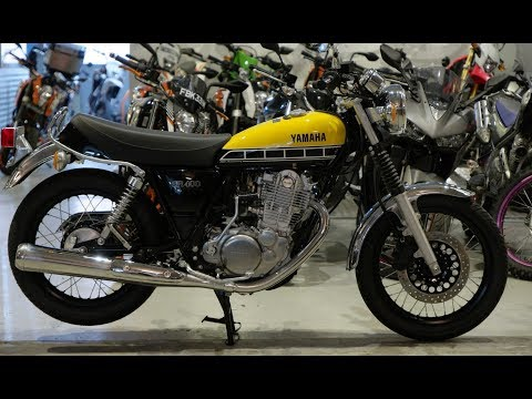 Yamaha SR 400 - NEW Retro Motorcycle