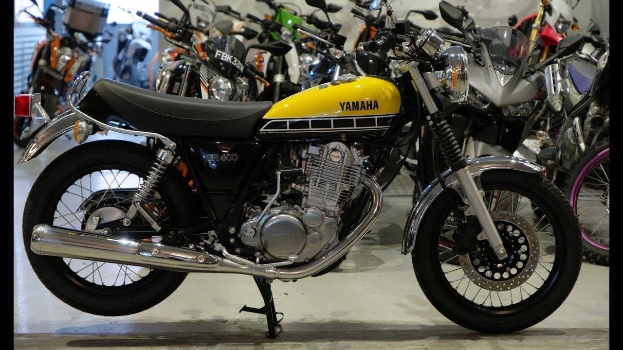 Yamaha sr 400 new retro motorcycles youtube for Yamaha 400cc motorcycle