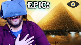 Time Travel To Egypt In Virtual Reality! - Oculus Rift