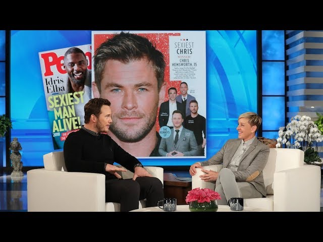 Chris Hemsworth Has Chris Pratt's Vote for 'Sexiest Chris'