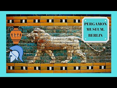 BERLIN, the fascinating historical exhibits of the PERGAMON Museum, GERMANY