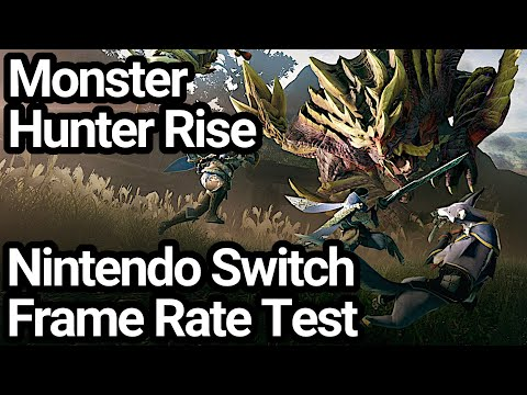 Monster Hunter Rise Switch Frame Rate Test (Demo)