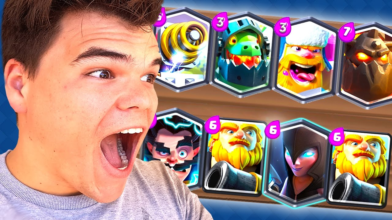 How to get the best deck ever clash royale 2 youtube for Clash royale deck molosse