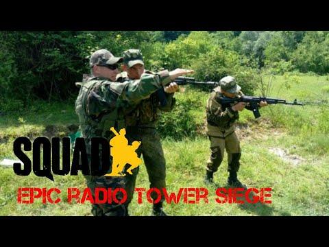 Epic radio tower siege ►Squad Alpha v11 (full round gameplay)