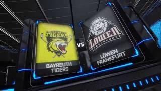 DEL2 Highlights 2 .Spieltag | EHC Bayreuth Tigers vs. Löwen Frankfurt