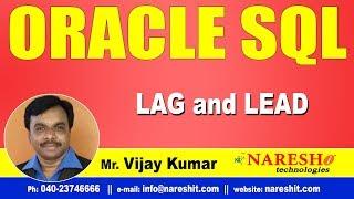 LAG and LEAD in SQL | Oracle SQL Tutorial Videos | Mr.Vijay Kumar *...