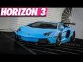Forza Horizon 3 : 275+ MPH Lamborghini Aventador Build