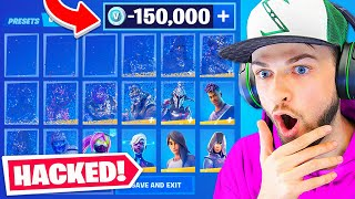 I Hacked Ali-A's Fortnite Account!