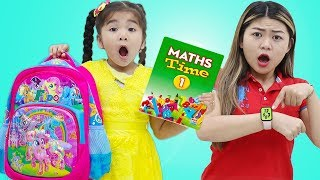 Get Ready For School Song Suri Pretend Play Morning Routine Nursery Rhymes & Kids Songs