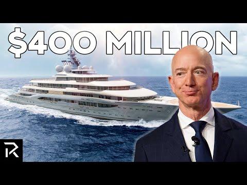 Inside Jeff Bezos' $400 Million Mega Yacht