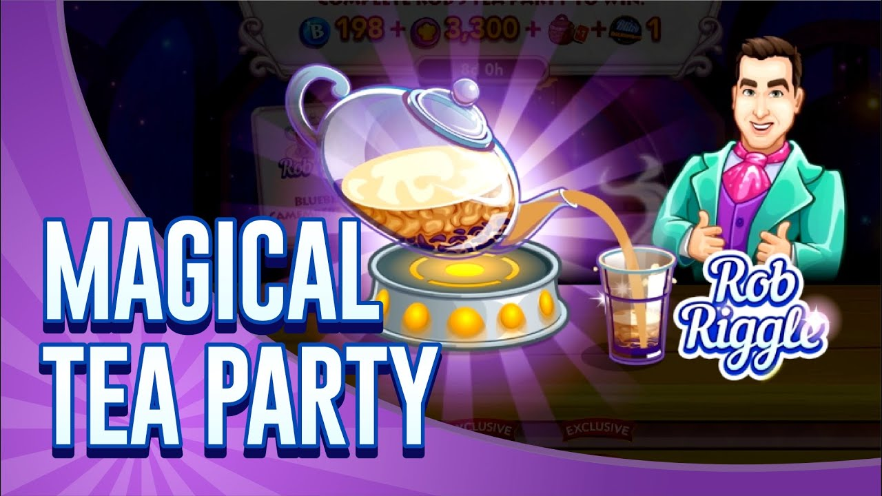 Come Join Chef #7 For A Magical Tea Party