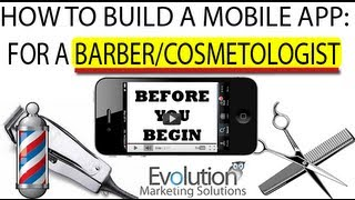How To Build A Mobile App For Barbers & Cosmetologist! - Intro
