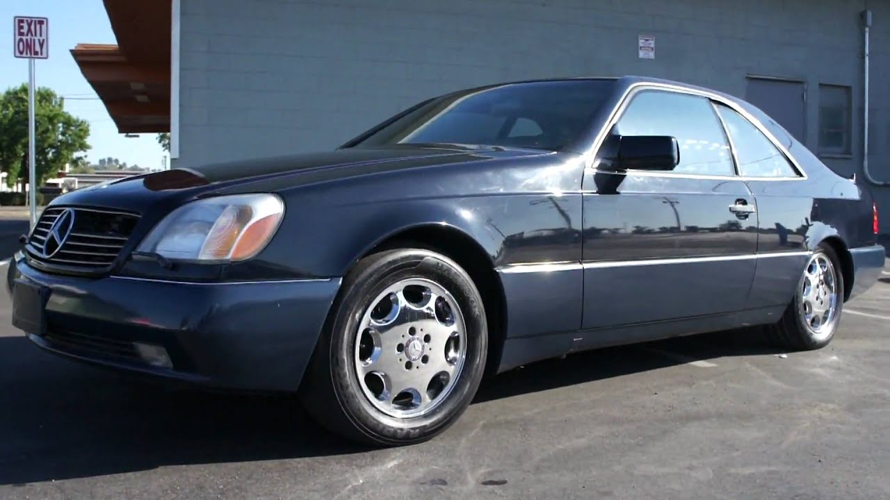 1994 mercedes benz s500 w140 coupe s600 cl500 for sale for Mercedes benz s500 for sale