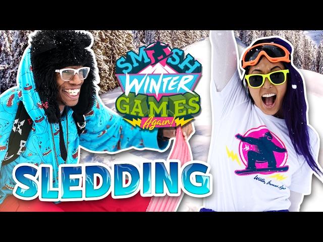 EPIC SLED FAILS (Smosh Winter Games)