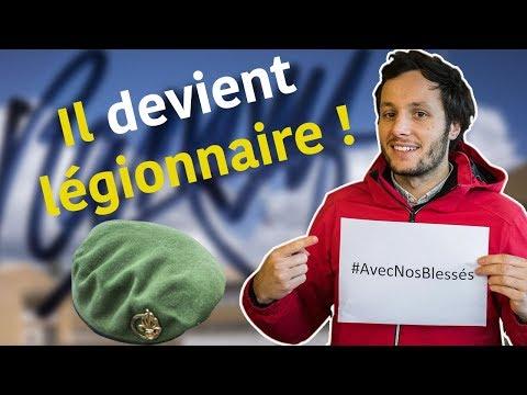 VIANNEY DÉCOUVRE LA LÉGION ÉTRANGÈRE !