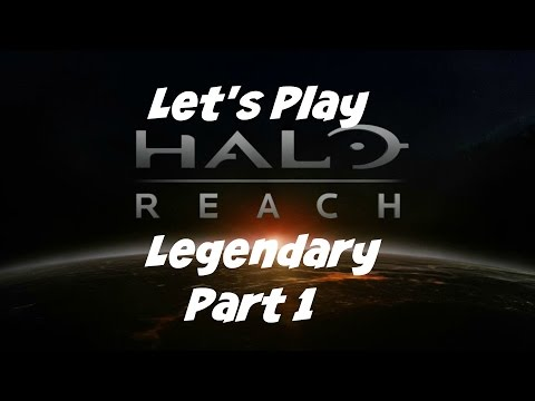 Let's Play: Halo: Reach - Legendary - Part 1 - No Commentary (Xbox One Gameplay)