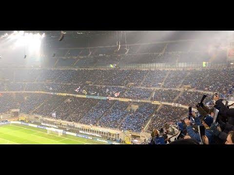 INTER NAPOLI 1-0 FORMAZIONI E REAZIONE GOL LAUTARO MARTINEZ 92'