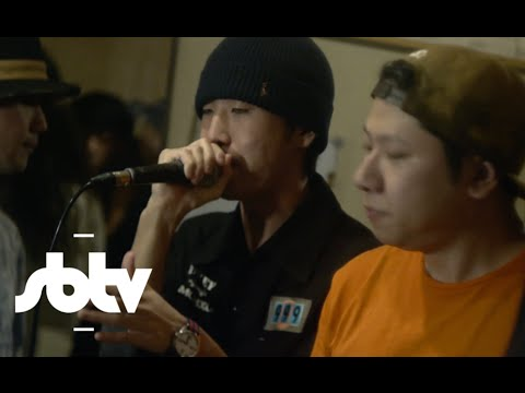Elijah & Skilliam and Japanese Grime Collective | STUDIO SESSION: SBTV