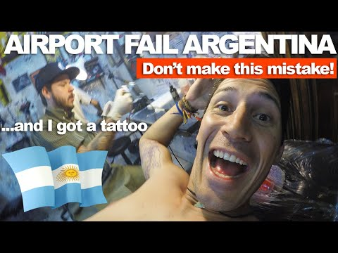 AIRPORT FAIL IN ARGENTINA - Don't make this mistake!