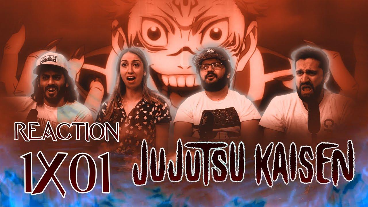 Jujutsu Kaisen - 1x1 Ryomen Sukuna - Group Reaction