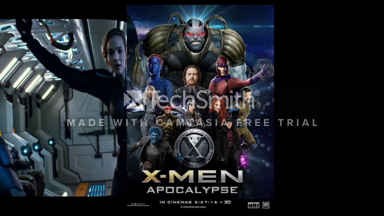 X- men Apocalypse new movie trailer