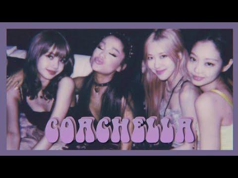 Interacciones De Artistas En Coachella♡ [Blackpink, Ariana Grande, Justin Bieber, Billie Eilish...]