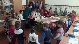 НУШ Ранкова зустріч у 1-Б класі(кл. керівник Аннишинець М. М.)