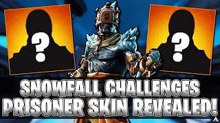 """Snowfall Challenges Skin """"THE PRISONER"""" Revealed! (Fortnite)"""