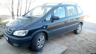 видео Фары и тюнинг Opel Zafira A