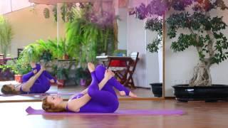 Мягкая расслабляющая растяжка   Супер средство от напряжения и боли в спине