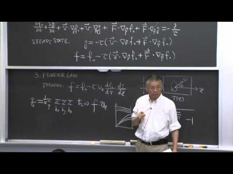 17. Solutions to Boltzmann Equation: Diffusion Laws