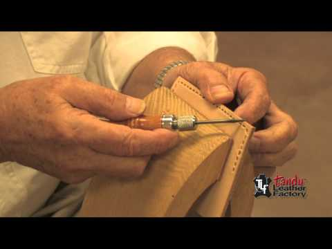 How To Use The 4-in-1 Awl Set On Leather
