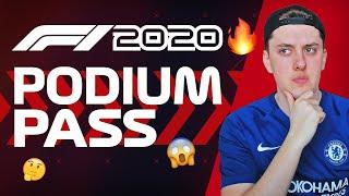 F1 2020 Game: *NEW* PODIUM PASS (Fortnite Battle Pass Style?!)