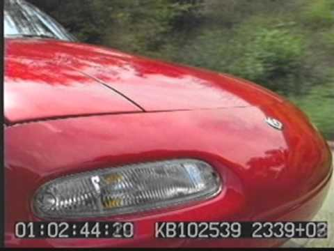 Mazda 1996 Product Running Footage 42 min 45 sec Reel #1 9:1:95 Red Car Red Car