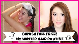 Banish Fall Frizz & My Winter Hair Routine! | Blair Fowler Thumbnail