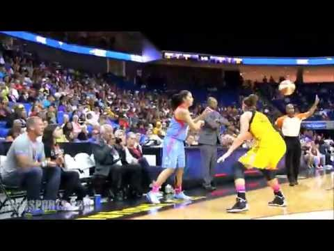BEHIND THE SCENES: Atlanta Dream vs Tulsa Shock 7/31/14