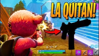 QUITAN este ARMA para SIEMPRE!! Fortnite: Battle Royale