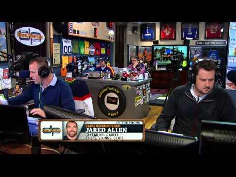 Jared Allen on the Dan Patrick Show (Full Interview) 4/2/14