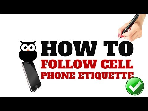 HOW TO FOLLOW CELL PHONE ETIQUETTE   ALL YOU NEED TO KNOW