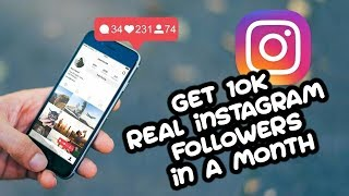 5 Ways to Get REAL INSTAGRAM FOLLOWERS (100% Working)