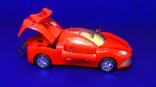 CARS Машинки. Мультфильм про красную машину. Красная машина поет и танцует.