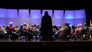 Darth Vader conducts the Imperial March when the Central Garrison invades the Rochester Symphony. thumbnail