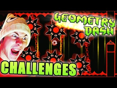 I CHALLENGE YOU / Geometry Dash 2.1 ~ SWING COPTER EVW CHALLENGES