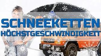 Schneeketten Höchstgeschwindigkeit | Deutschland, Österreich, Schweiz | Auto in der StVO