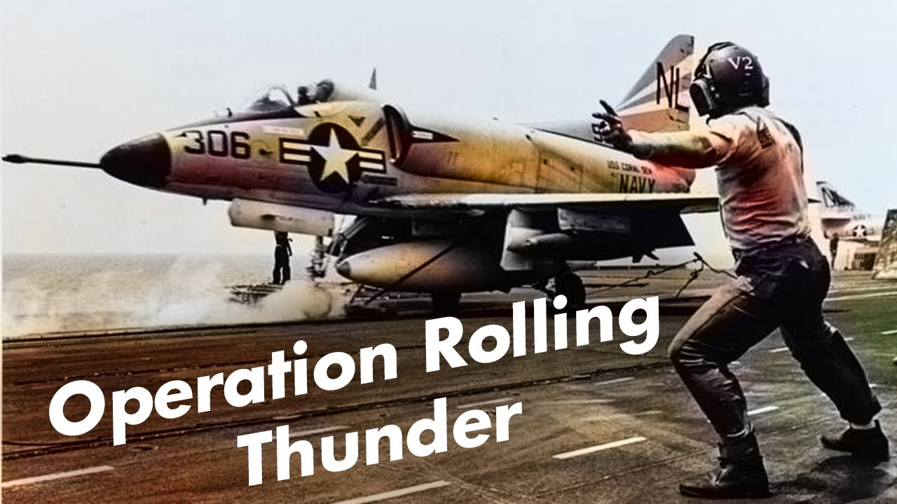 Why Did The U.S. Lose in Vietnam? ⚔️ Operation Rolling Thunder