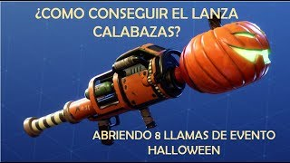 HOW TO GET CALABAZAS? / OPENING 8 HALLOWEEN/ FORTNITE WORLD EVENT FLAMES